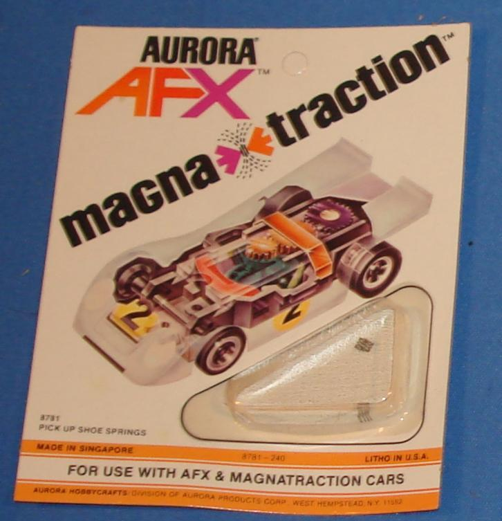 Aurora AFX Magnatraction Slot Car Spare Parts Pickup Shoe Springs