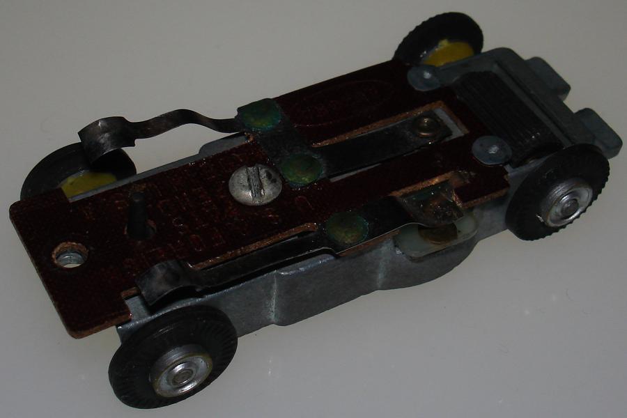 Aurora Model Motoring Vibe Embossed Slot Car Chassis Brush Plate
