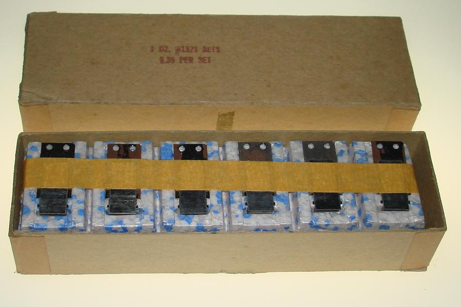 Aurora Model Motoring Factory Sealed Vibrator Slot Car Parts 1571 Actuator Reed Assembly One Dozen