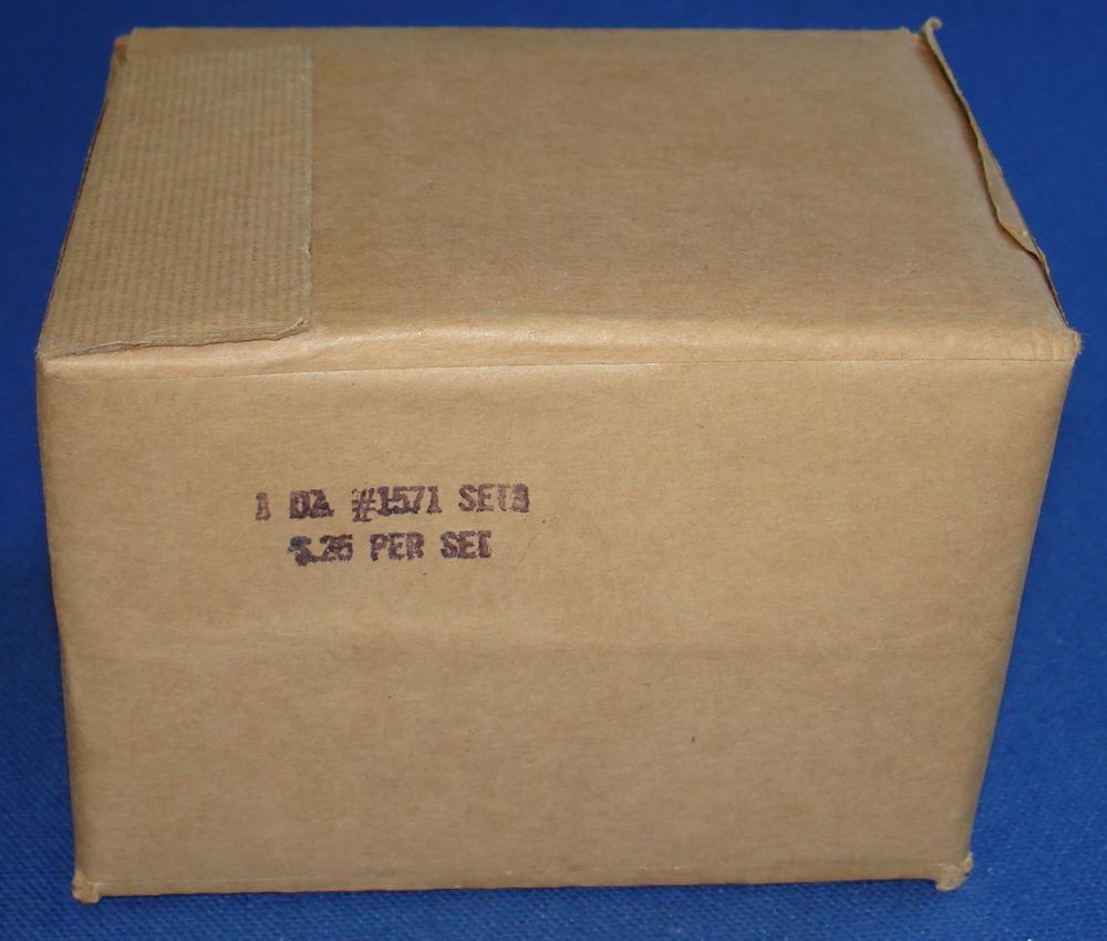 Aurora Model Motoring Factory Sealed Vibrator Slot Car Parts 1571 Actuator Reed Assembly One Dozen Sealed Case