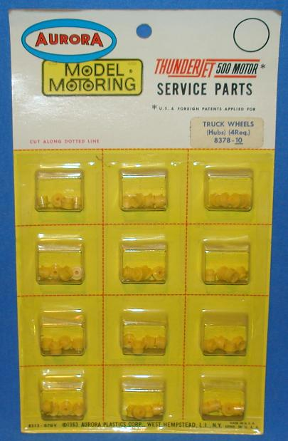 Aurora Slot Car Parts Truck Tires