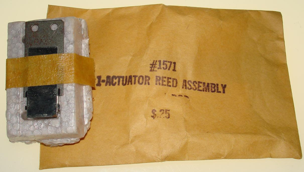 Vibe Slot Car Parts 1571 Actuator Reed Assembly