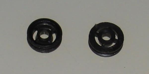 TYCOPRO HO Slot Car Parts Front Hubs