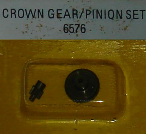 Tyco HP7 HO Slot Car Service Parts Crown Gear Pinion Set