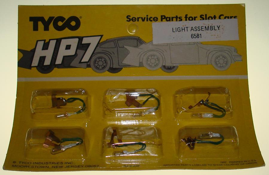 Tyco HP7 HO Slot Car Service Parts Light Assembly