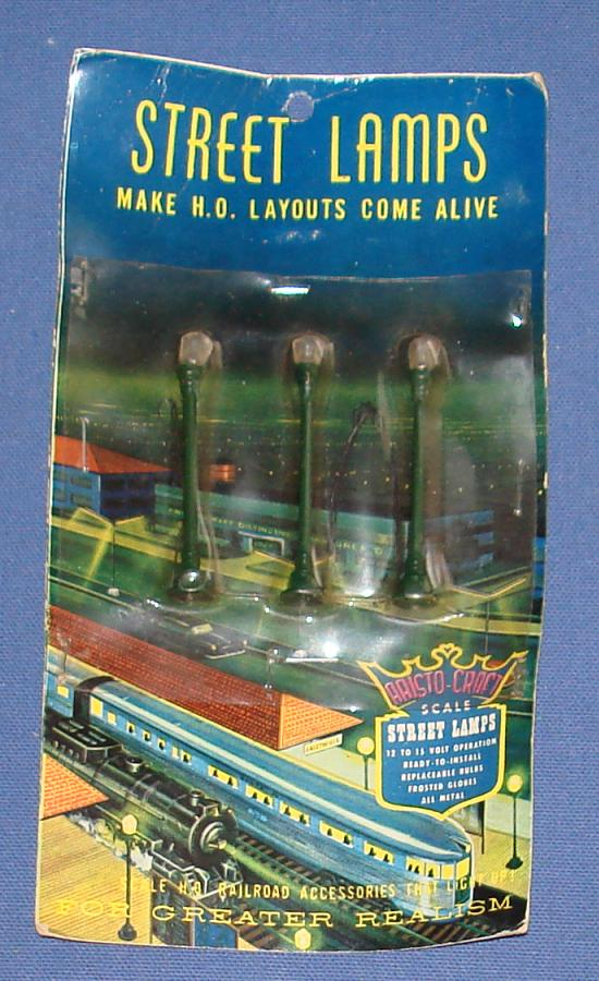 Aristo Craft 1:87 Scale Slot Car Road Racing Layout Scenery Pole Street Lamps