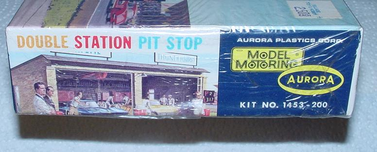 Aurora Double Station Pit Stop Kit #1453 Box End Panel