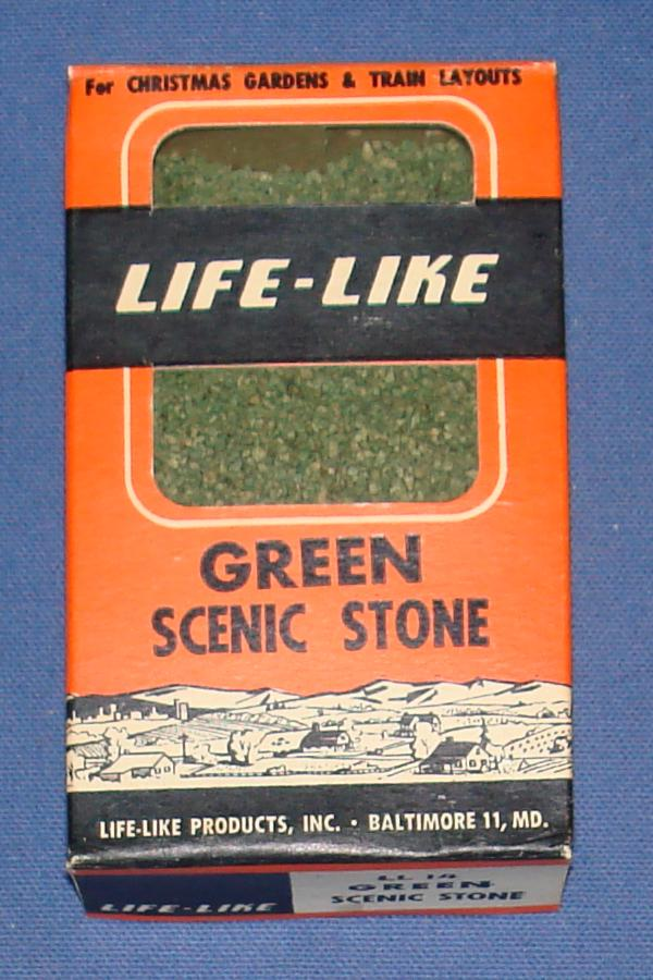 Life Like 1:87 Scale Slot Car Road Racing Layout Scenery Green Scenic Stone