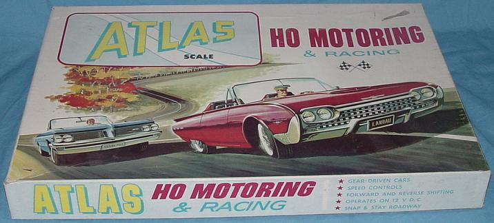 Atlas Figure Eight Slot Car Set #1206 Box