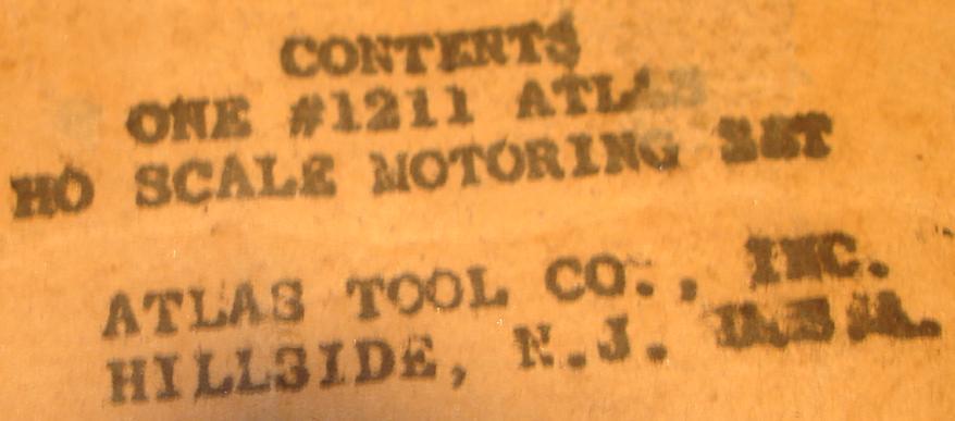 ATLAS MOTORING HO 1:87 SCALE SLOT CAR RACING TRACK SET 1211 PRETZEL LABEL