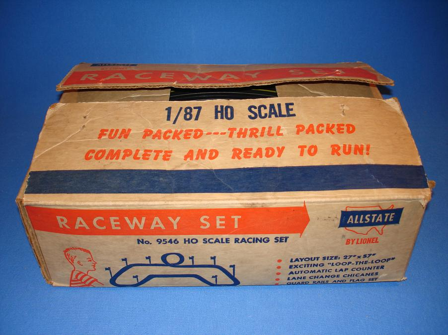 Lionel HO Slot Car Racing Track Set #9546 Box