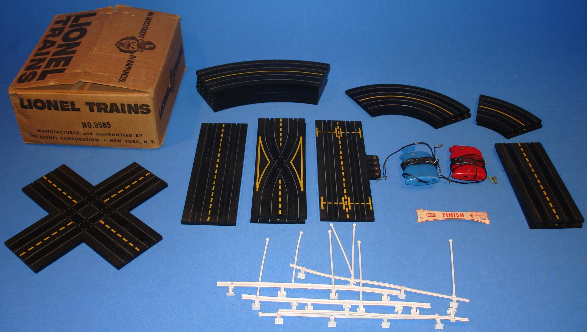 ho slot car track accessories