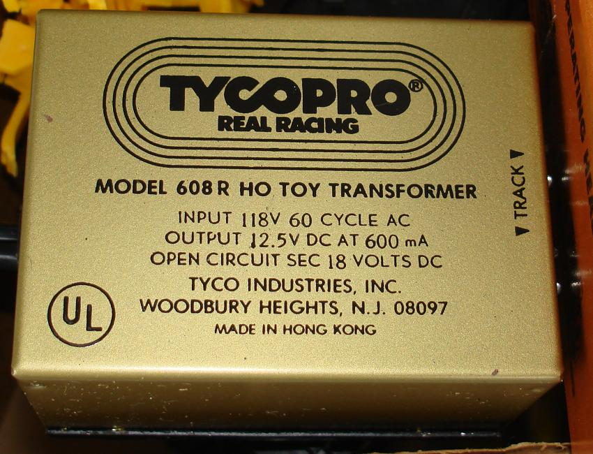 Tyco Tycopro Road & Rail HO Slot Car Racing Electric Toy Transformer