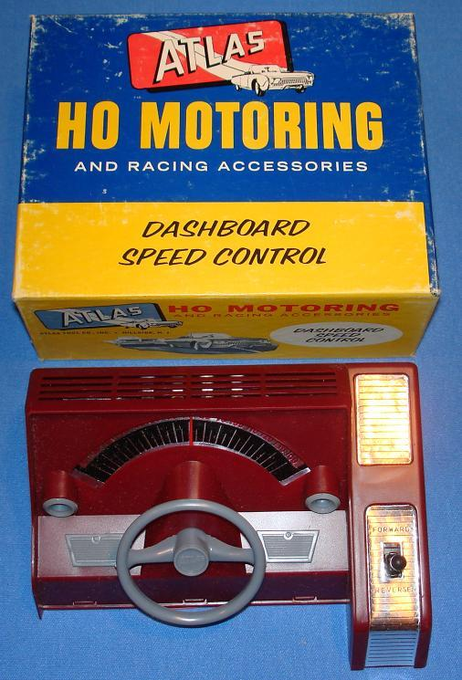 Atlas 1253 Slot Car Racing Dashboard Speed Control