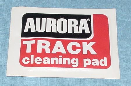 Aurora AFX Slot Car Racing Track Cleaning Pad Package