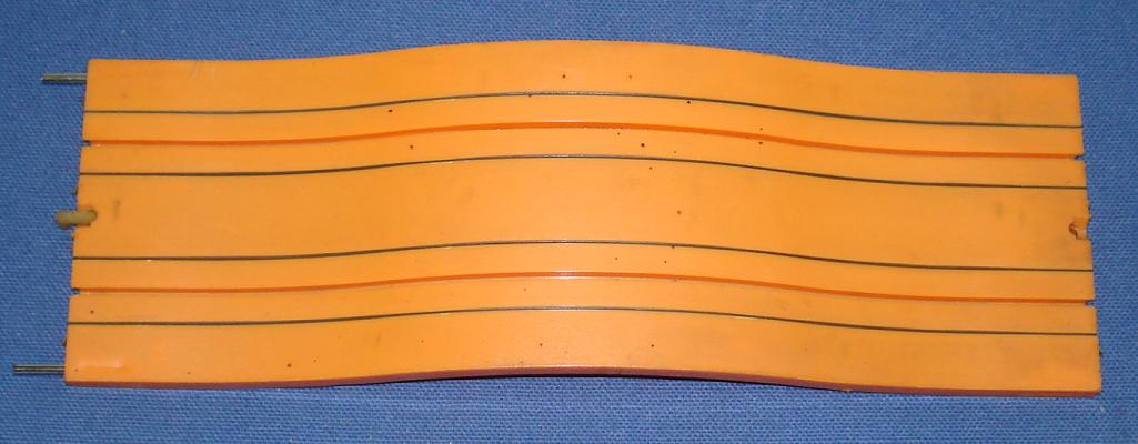 Aurora Model Motoring 1512 Orange Hump Slot Car Track Section