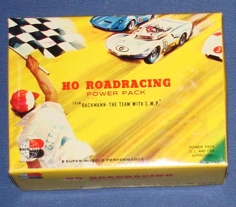 Bachmann 1:87 Scale Slot Car Road Racing Power Pack Box 6603