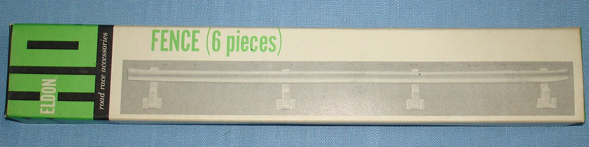 Eldon HO Road Race Accessories Slot Car Racing Track 9 Inch Fence Sections #3464
