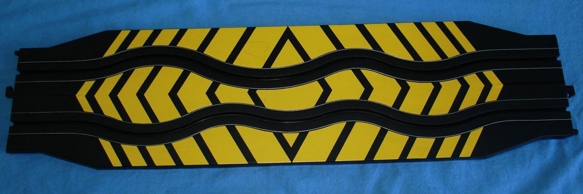 Life Like Slot Car Racing Track 15 Inch Straight Obstacle Section
