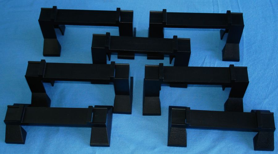 Life Like Slot Car Racing Track Elevation Supports