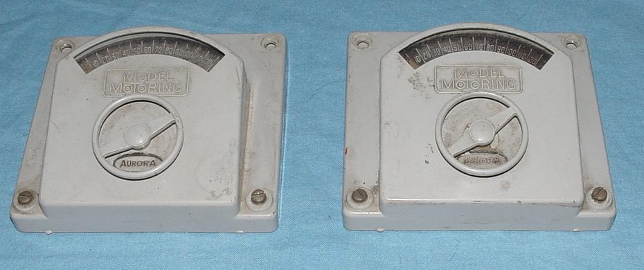 Aurora Slot Car Grey Steering Wheel Controllers