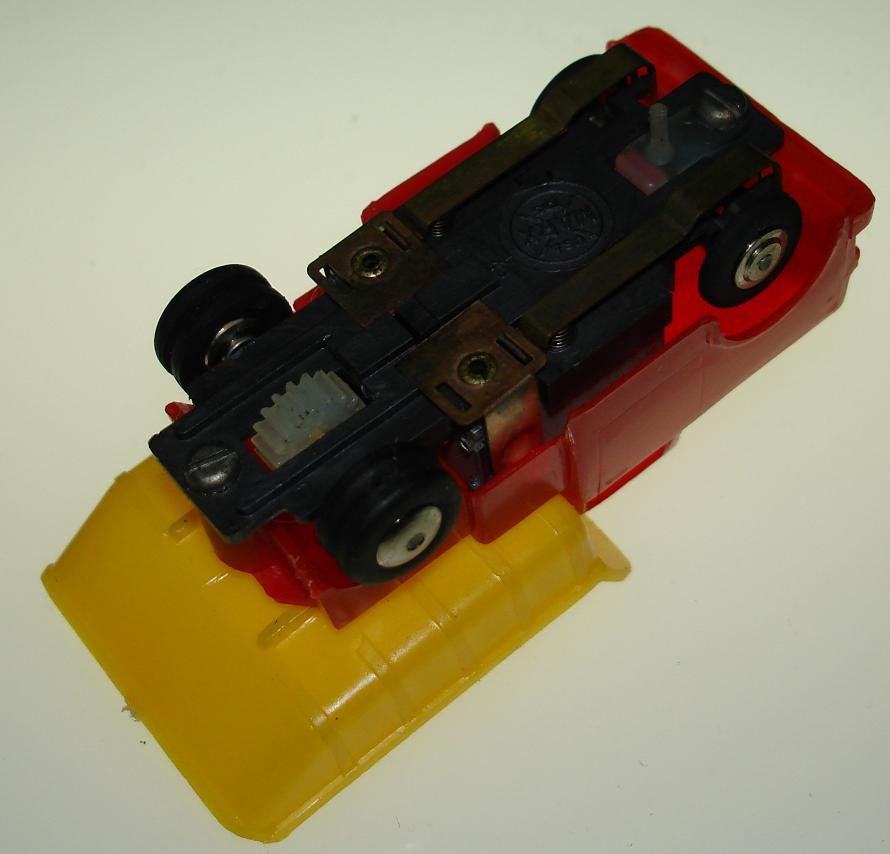 Marx HO Scale Dump Truck Slot Car Truck Chassis