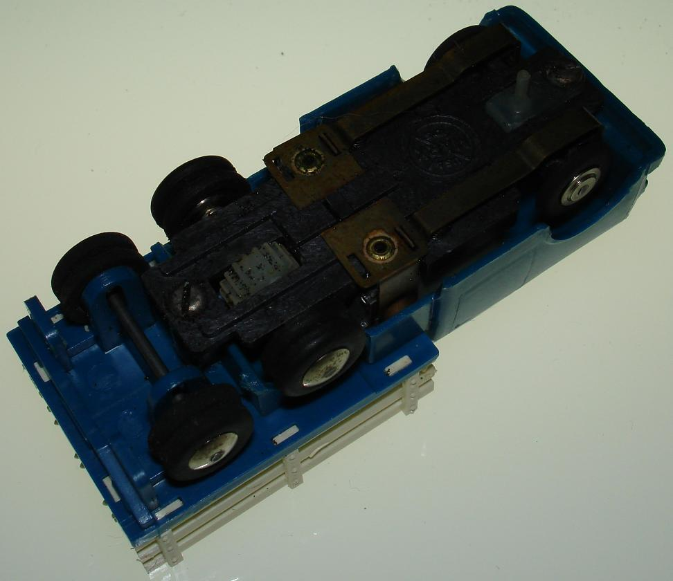 MARX HO Stake Truck Slot Car Chassis