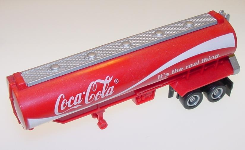 TYCO US1 Trucking Coke Slot Car Truck Tanker