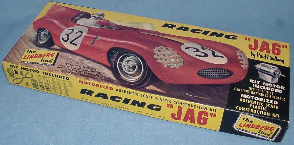 Paul Lindberg Red Jaguar Body Motorized Jag Kit Box