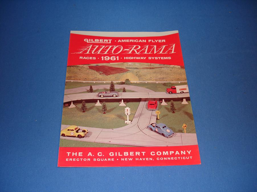 AC Gilbert Auto-Rama Slot Car Racing Catalog Front Cover