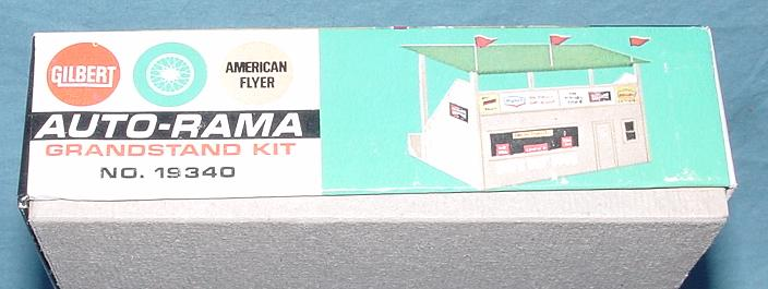 AC Gilbert Auto-Rama Speedway Slot Car Racing Grandstand Kit #19340