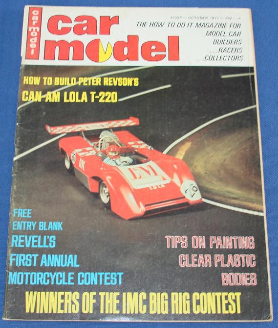 Car Model Slot Car Magazine Issue 105 October 1971