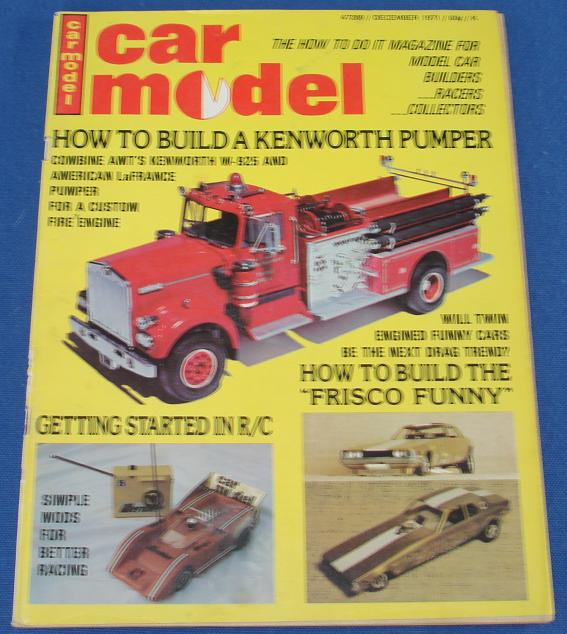 Car Model Slot Car Magazine Issue 107 December 1971