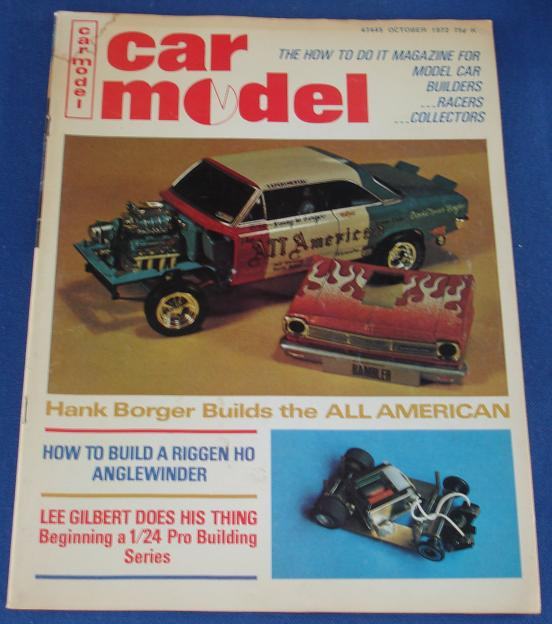 Car Model Slot Car Magazine Issue 117 October 1972