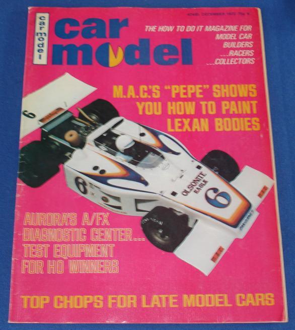 Car Model Slot Car Magazine Issue 119 December 1972