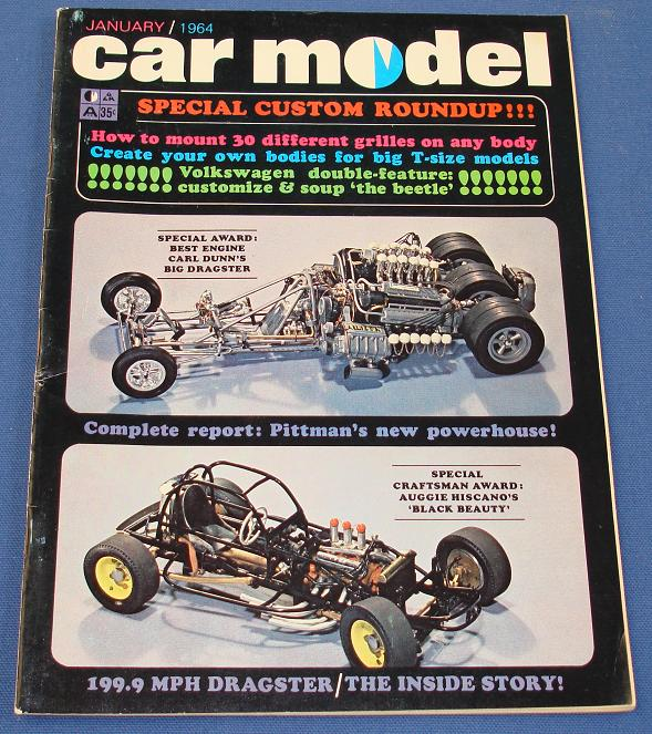 Car Model Slot Car Magazine Issue 12 January 1964