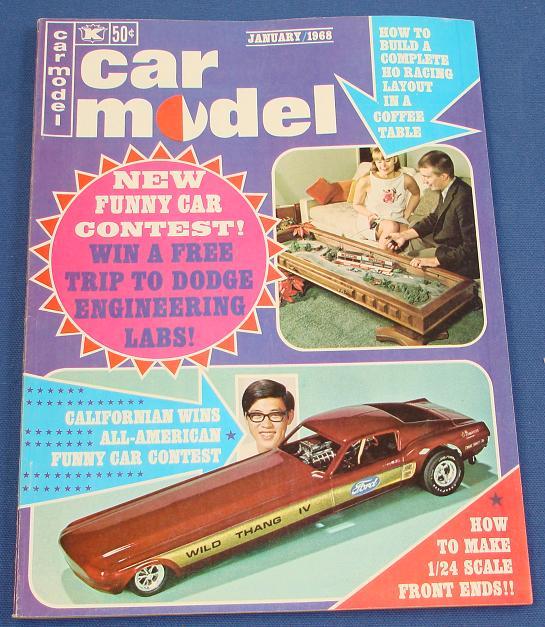 Car Model Slot Car Magazine Issue 60 January 1968