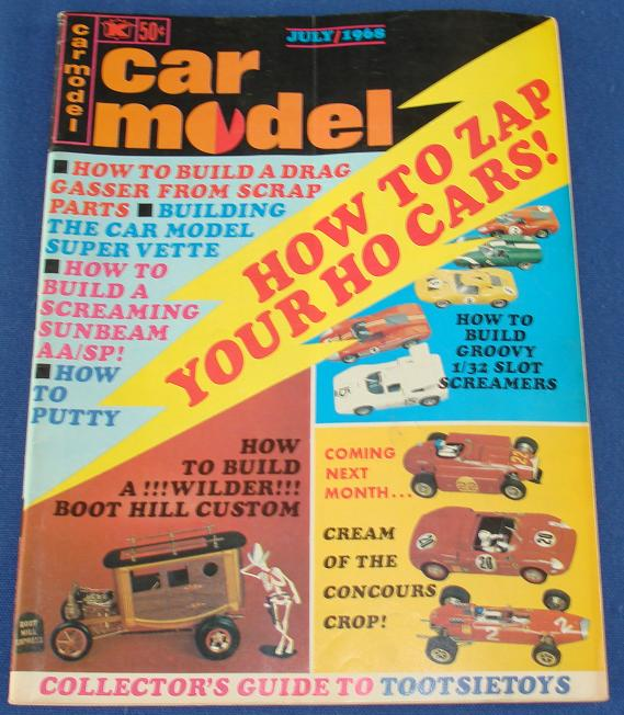 Car Model Slot Car Magazine Issue 66 July 1968