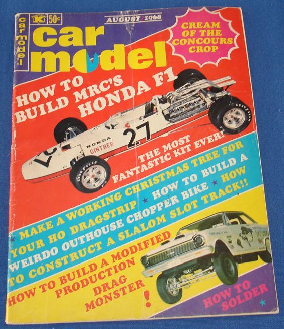 Car Model Slot Car Magazine Issue 67 August 1968