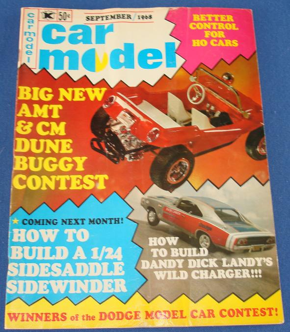 Car Model Slot Car Magazine Issue 68 September 1968