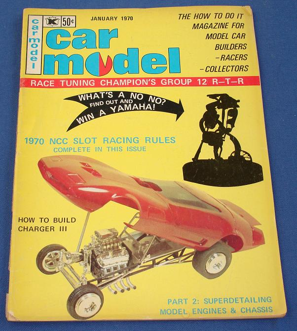 Car Model Slot Car Magazine Issue 84 January 1970
