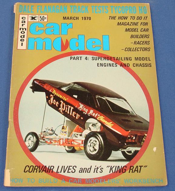 Car Model Slot Car Magazine Issue 86 March 1970