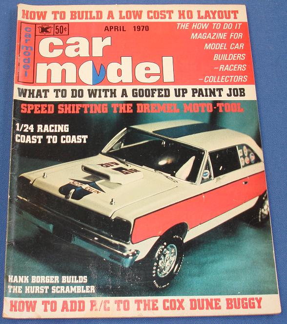 Car Model Slot Car Magazine Issue 87 April 1970