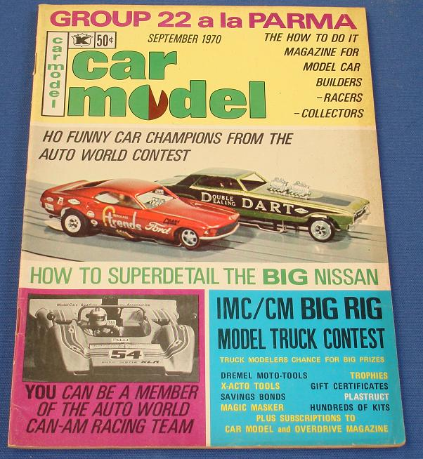 Car Model Slot Car Magazine Issue 92 September 1970