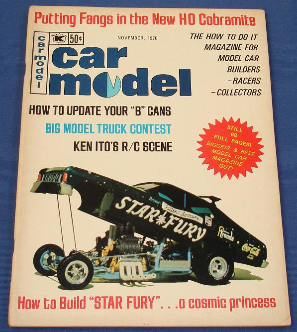 Car Model Slot Car Magazine Issue 94 November 1970