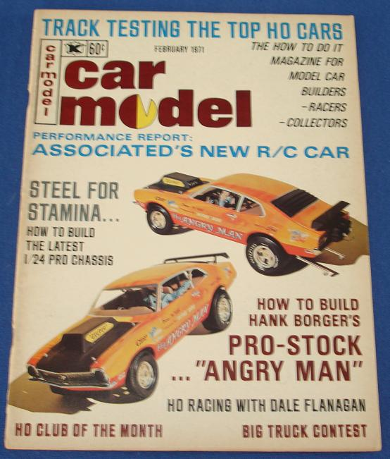 Car Model Slot Car Magazine Issue 97 February 1971