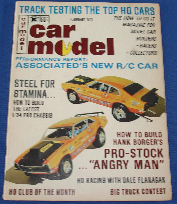 Car Model Slot Car Magazine Issue 97 February 1971