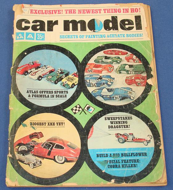 Car Model Slot Car Magazine Issue 19 August 1964