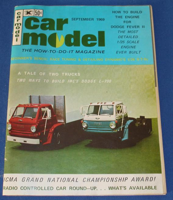 Car Model Slot Car Magazine Issue 80 September 1969