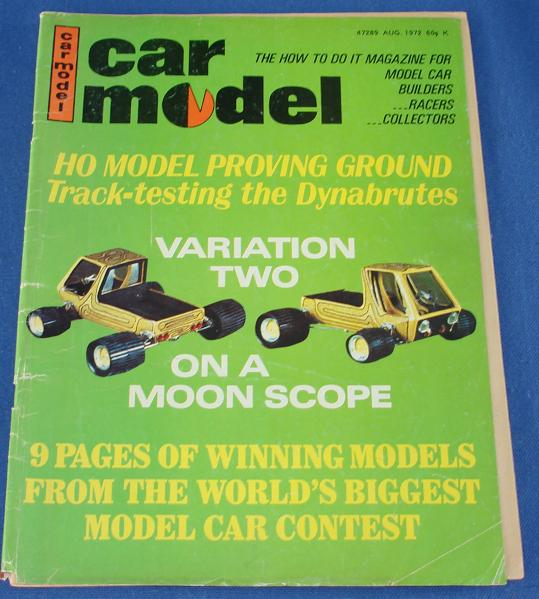 Car Model Slot Car Magazine Issue 115 August 1972